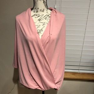 New h by Halston oversized top size L